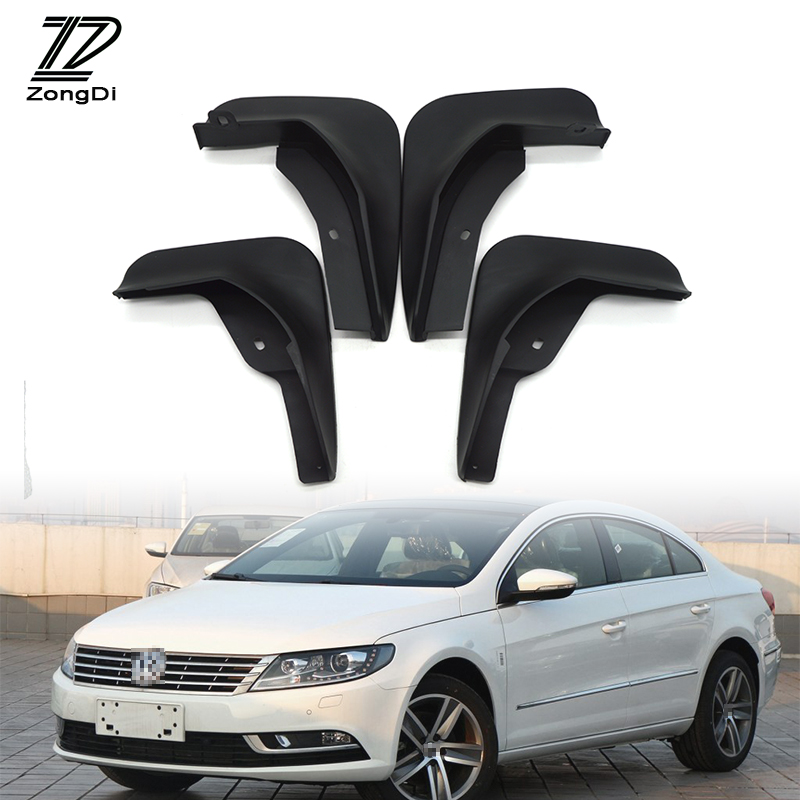 ZD Car Front Rear Mudguards For VW CC 2013-2016 For VW Passat CC 2009-2011 For VW Polo Mk4 Mk5 Hatchback 2005-2014 Accessories