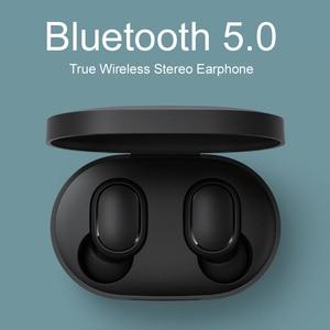 Image 2 - Original Xiaomi Redmi Airdots s TWS Xiaomi Wireless earphone Voice control Bluetooth 5.0 Noise reduction Tap Control