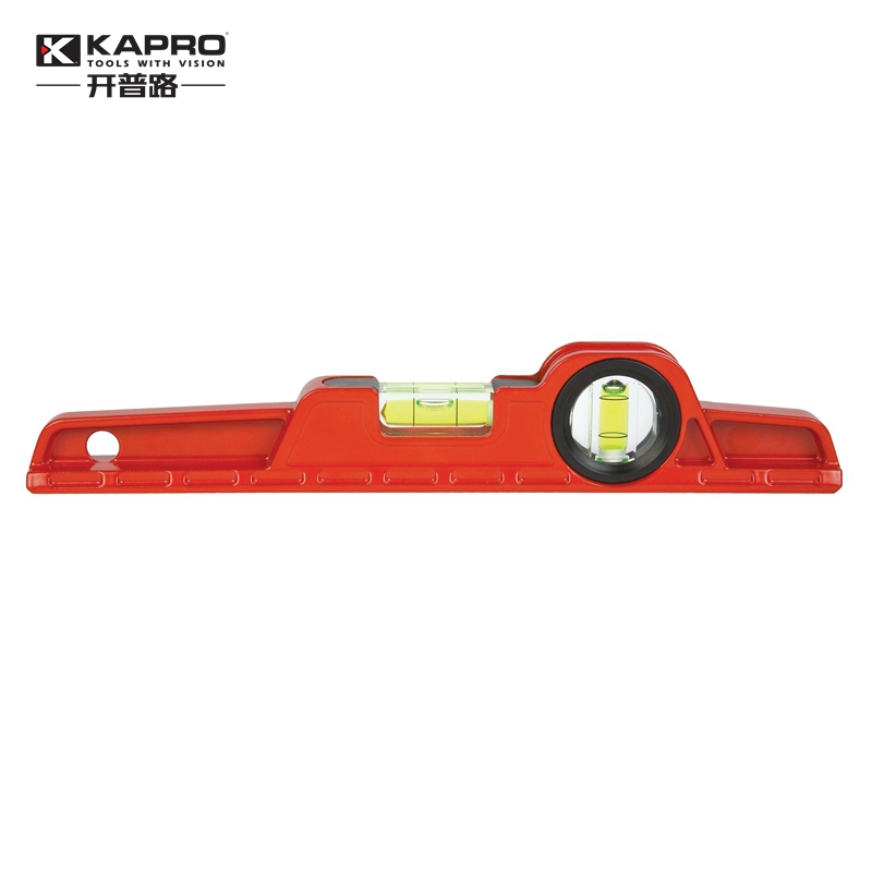 KAPRO Die Casting Level High precision aluminum alloy toolbox Mini Level Spirit Bubble Level Length 25cm variety models available round bubble level mini spirit level bubble bullseye level measurement instrument