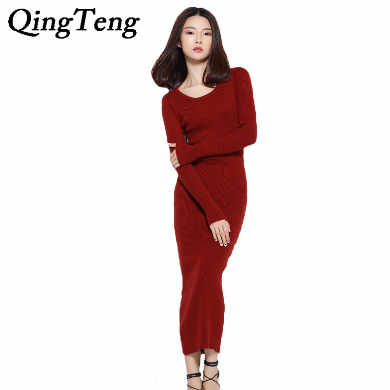 Popular Wool Maxi Dress-Buy Cheap Wool Maxi Dress lots from China ...