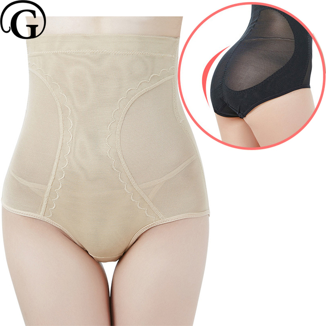 28e69afe9f PRAYGER Plus 5XL Women High Waist Control Panties Hold Abdomen Compression Tummy  Shaper Lift Butt Body Shapers Underwear