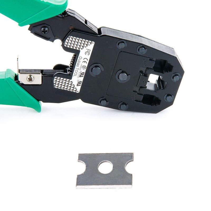 8pcs/set RJ45 RJ11 RJ12 CAT5 CAT5e Portable LAN Network Repair Tool Kit Utp network cable tester Plier Crimper Plug Clamp 5