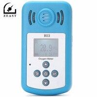 Kxl-803 кислорода метр O2 тестер газоанализатор с ЖК-дисплей Дисплей и звук-световой сигнализации тонкой кислорода (O2) детектор Концентрация