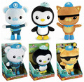 3pcs/lot Octonauts Plush Toys Cotton Octo-Crew Super Lovely Captain Barnacles Medic Peso with out box