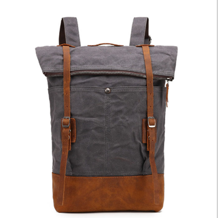 Large Capacity Men's Casual Canvas Backpack Vintage Leisure Travel School Bag For Teenagers Laptop Backpacks Mochilas army green brand stylish travel backpack for men canvas luggage bag casual large capacity shoulder laptop backpacks teenagers travel bag