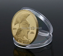 2 pieces / 2014 latest U.S. bitcoin BTC special commemorative coin collection of gold and silver coins in foreign currency