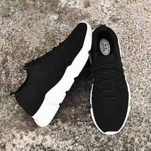 SUROM Woven Men Casual Shoes Breathable Male Shoes Adult Tenis Masculino Shoes Lightweight Outdoor Krasovki For Male Sneakers