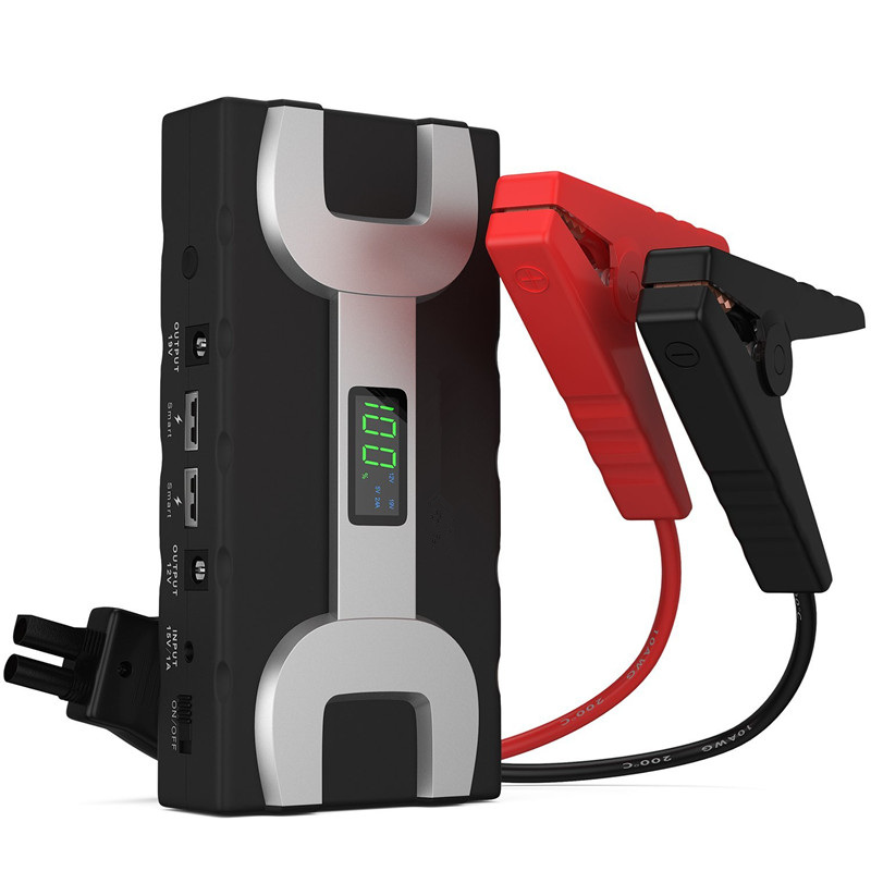1000A Peak 20000mAh Dual USB Portable Car Jump Starter Battery Booster Charger-Compact Power Bank For Mobile Devices Car Battery mini usb led lamp portable bendable keyboard usb light for ultrabook notebook laptop power bank adapter wall car charger