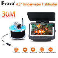 Eyoyo F06 4 3 LCD Monitor 30M 320x240 IR Fish Finder Detector Underwater Fishing Camera Night