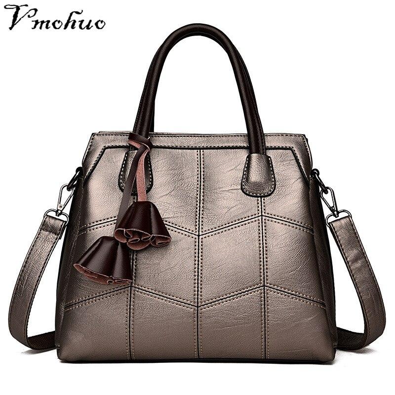 bc64a4f28727 VMOHUO Women Handbag Genuine Leather Bag Female Retro Evening Totes ...