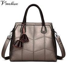 VMOHUO Women Handbag Genuine Leather Bag Female Retro Evening Totes Bags High Quality Bag Lady Top-Handle Bags bolsas feminina