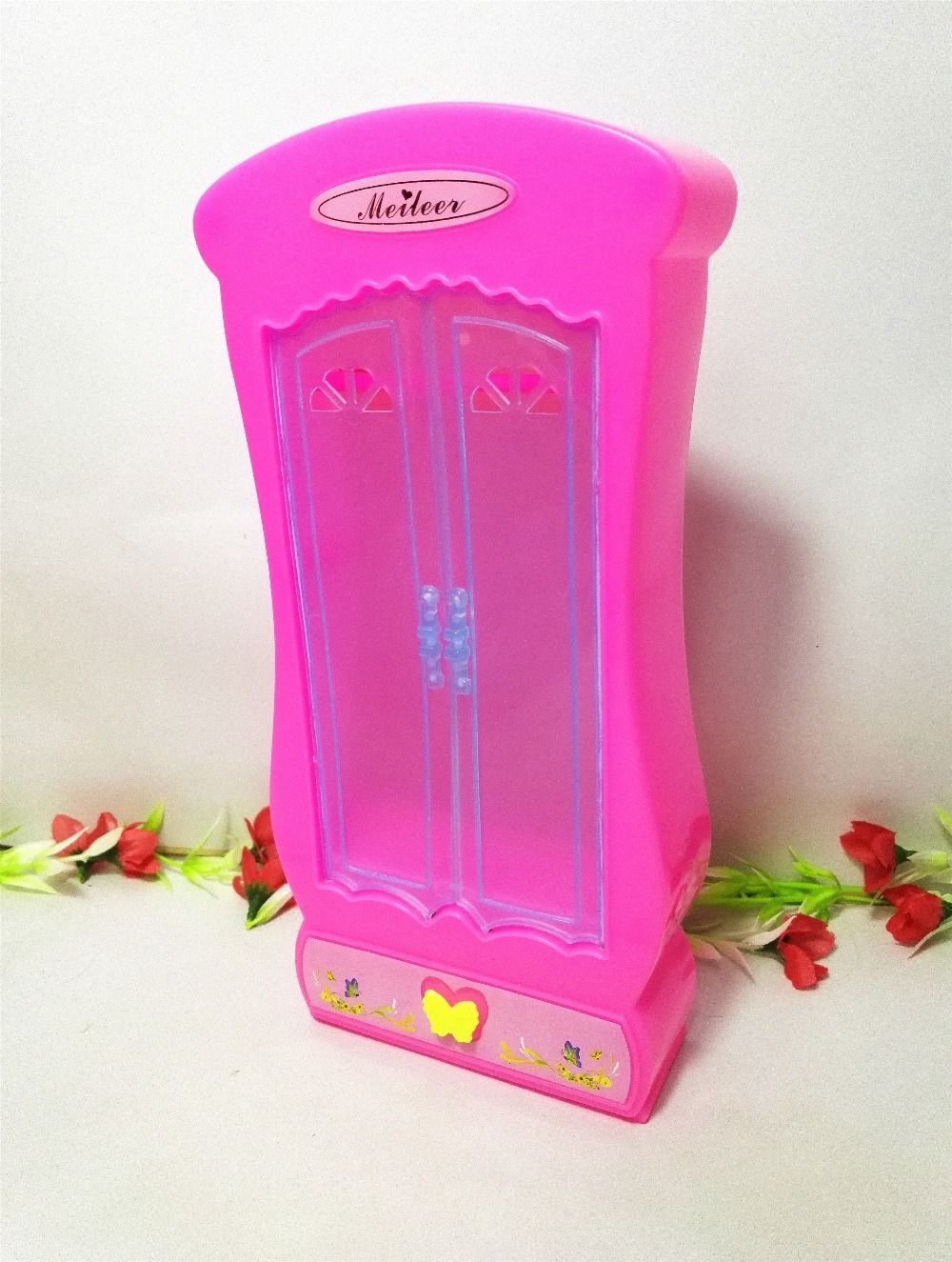 acquista all'ingrosso online plastica armadio guardaroba da ... - Camera Da Letto Di Barbie