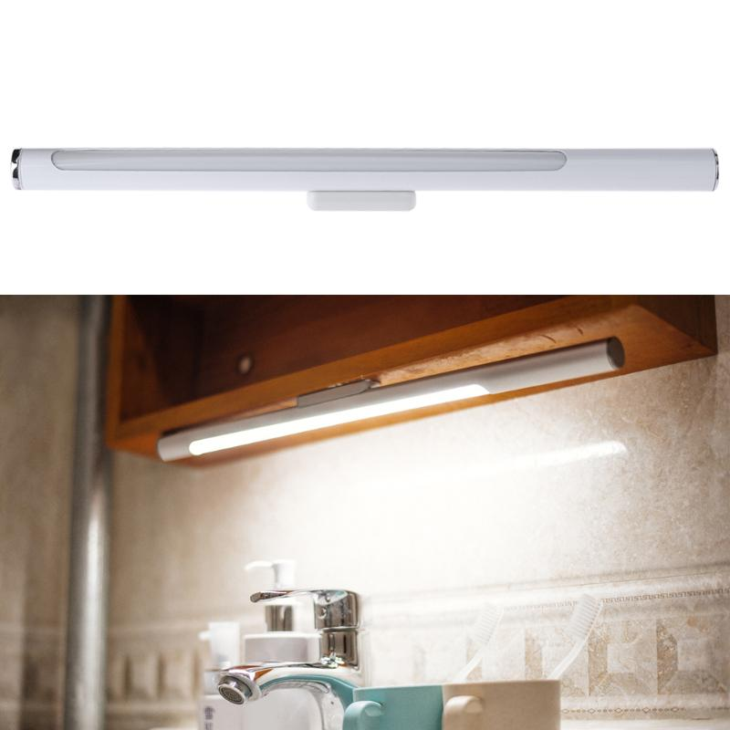 5W 180 Degree Rotatable LED Touch Sensor Kitchen Cabinet Light Lamp Kitchen Cabinet Wardrobe Closet USB Light Lamp