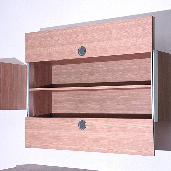 Vertical Rail Slider Runner for Wall Kitchen Cabinet Cupboards Double Dual Up Down Door Pull Down Mechanism Synchronism lifter