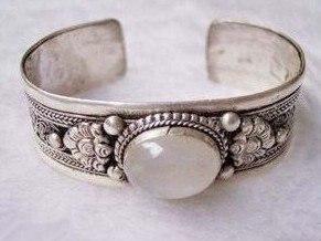 Tibet moonstone bracelet