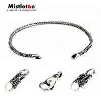 Genuine 925 Sterling Silver Bracelets Charms Silver Locks Beads Charms Fit European Brand Bracelet Jewelry Animal