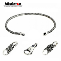 Genuine 925 Sterling Silver Bracelets Charms Silver Locks Beads Charms Fit European Brand Bracelet Jewelry Animal