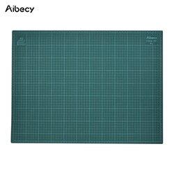 ПВХ A2 резки мат 18 x 24 многоцелевой бумагорез коврики для резки для лоскутного шитья Двусторонняя 5-слойные фанерные прочная бумага коврик д...
