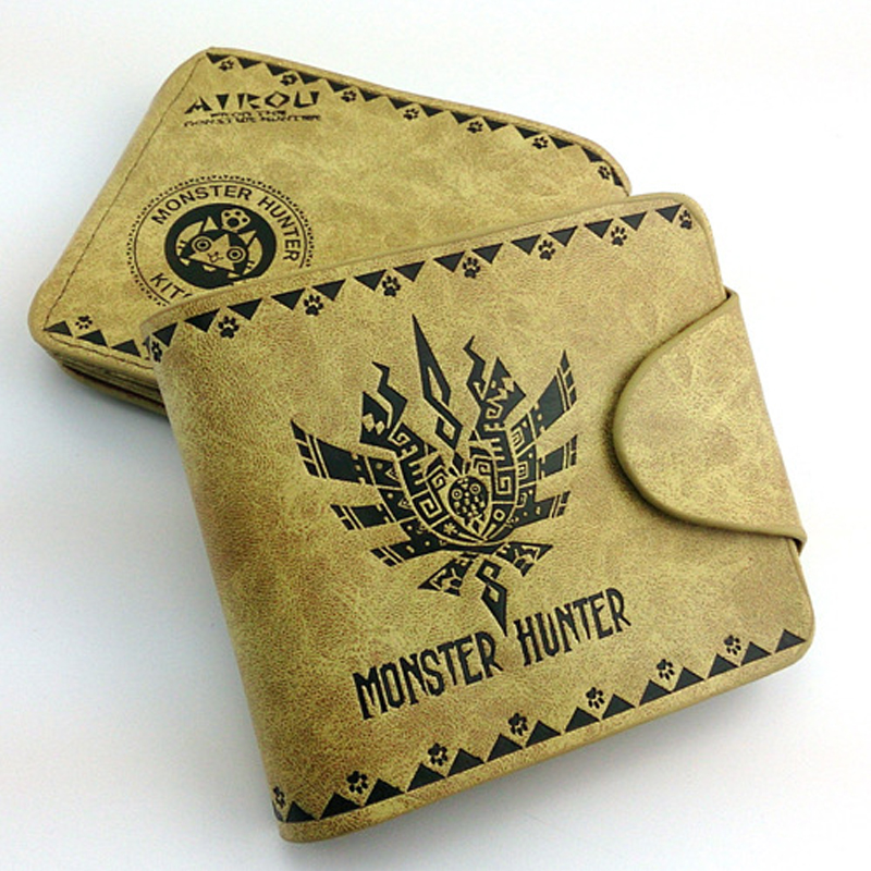 Game Monster Hunter Wallet Purse Bag Cosplay Costume Accessory Props Toy Gifts