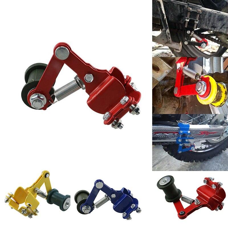Tendeur de chaîne de moto Motocross ajusteur automatique chaîne rouleau outils universel modifié accessoires pour Dirt Pit Bike ATV