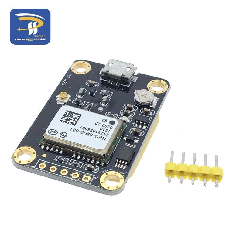Gps module micro usb neo mv compatible m satellite
