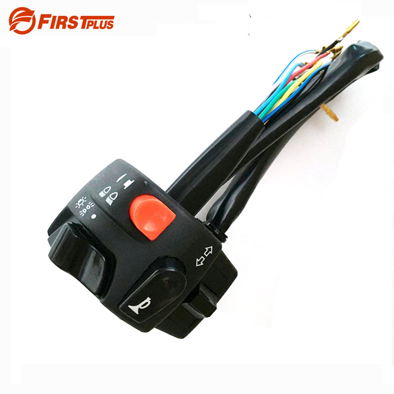 7 8 Quot Motorcycle Handlebar Switch Assembly Engine Electric Start Kill Horn Beam Headlight Fog