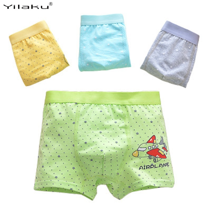 Yilaku Boys Underwear Kids Boys Underwear Cartoon Pint Panties Set Kids Underwear Boys Lot CM004