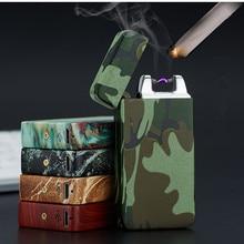 Plasma cigare Arc Palse briquet impulsion coupe vent briquet tonnerre USB briquet Rechargeable accessoire Cigarette électronique briquet