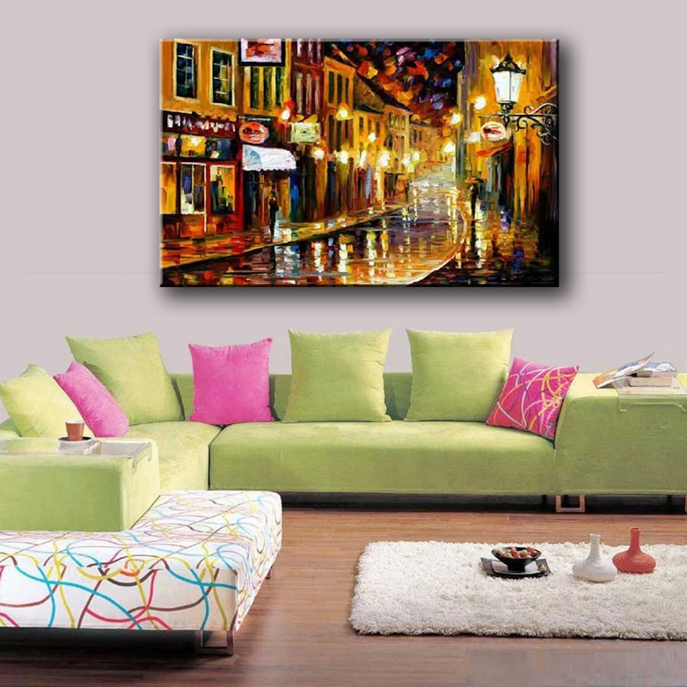 NEW-100-hand-painted-knife-painting-colorful-sea-view-Art-Decoration-sitting-room-Oil-Painting-Canvas (4)