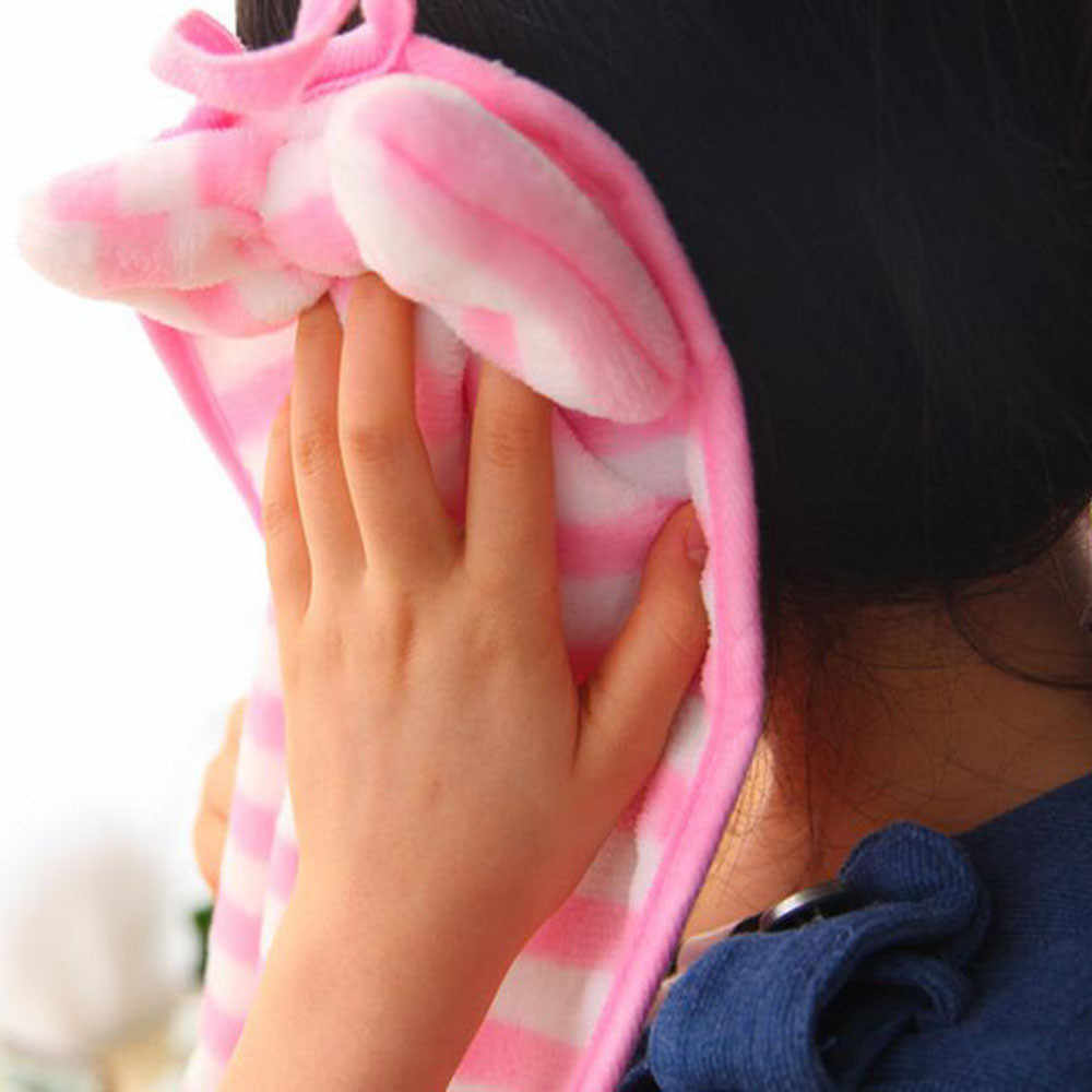Przedszkole dla dzieci ręcznik miękkie pluszowe łuk zwierząt wiszące chusteczki łazienka kuchnia akcesoria 5.6