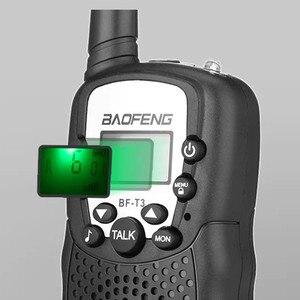 Image 3 - 2 STUKS Baofeng BF T3 Walkie Talkie Beste Geschenk voor Kinderen Kinderen Radio Mini Handheld T3 Draadloze Twee Manier Radio Kids speelgoed Woki Toki