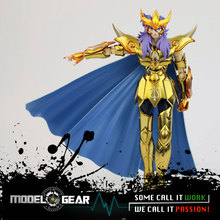 Metal Club MC Metalclub Modelo Scorpio Milo Saint Seiya Myth Cloth Ex Oro Metal Armor Figura de Acción Juguetes