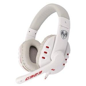 Image 2 - SOMiC G923 DJ tiefe bass Gaming kopfhörer Kopfhörer mit Mikrofon PC Headset computer spiel musik stirnband 3,5mm