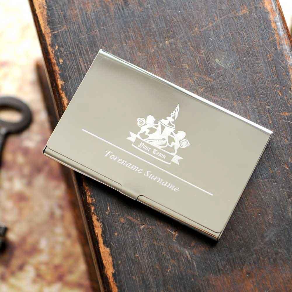 custom engraved business card holder promotionshop for