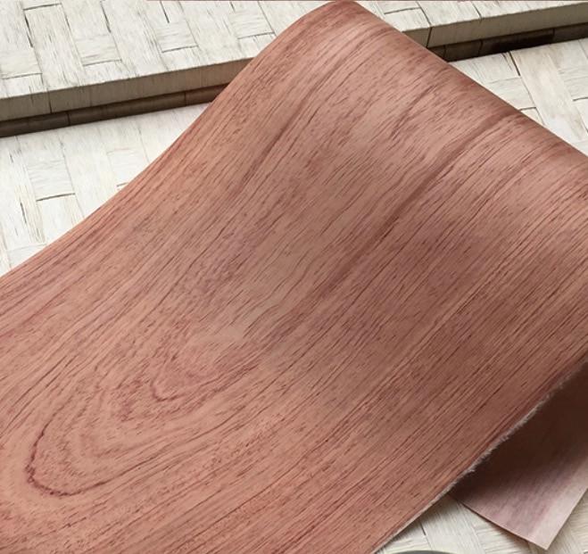2PCS 2.5Meter/pcs Width:22cm Thickness:0.25mm Solid Wood Rosewood Veneer Furniture Edge Banding