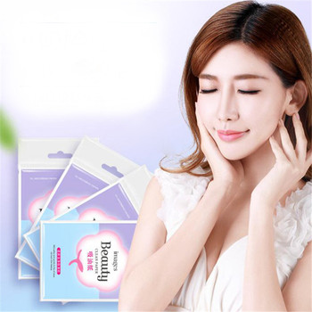 100pcs/pack Tissue Papers Green Tea Smell Makeup Cleansing Oil Absorbing Face Paper Absorb Blotting Facial Cleanser Face Tool 1