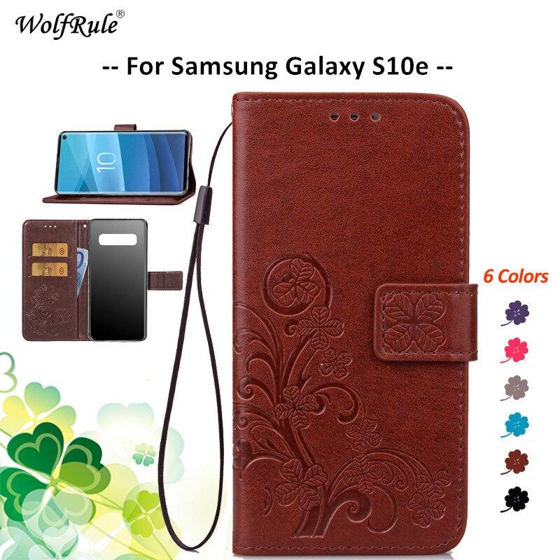 For Cover Samsung Galaxy S10e Case Flip PU Wallet Phone Bag Case For Samsung S10e Cover For Samsung Galaxy S10e G970 5.8''