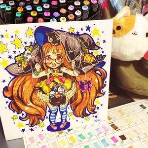 Image 5 - Touchfive marqueurs artistiques à base dalcool, 30/40/60/80/168 couleurs, pour dessin, fournisseurs danimation Manga, bon marché