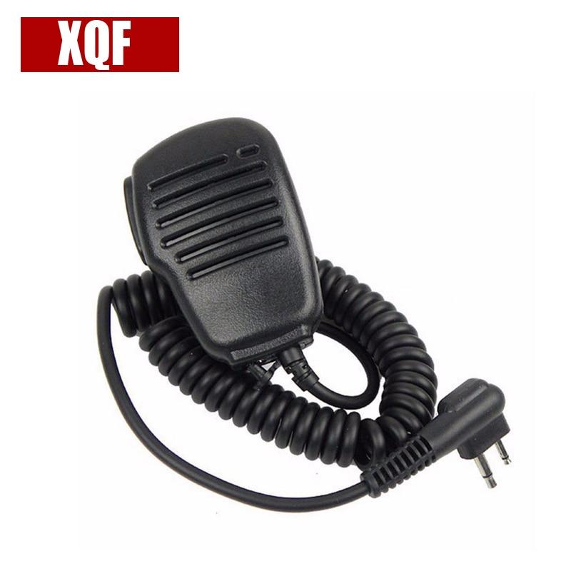 XQF 10PCS  Speaker Mic Microphone For Motorola CP150 CP185 GP300 GP68 GP88 GP88S GP2000 Radio