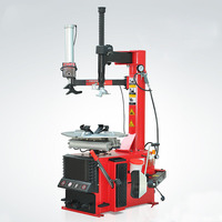 Tire Changer With CE Certification 10 24 Rim Diameter Automatic Lateral Swinging Arm