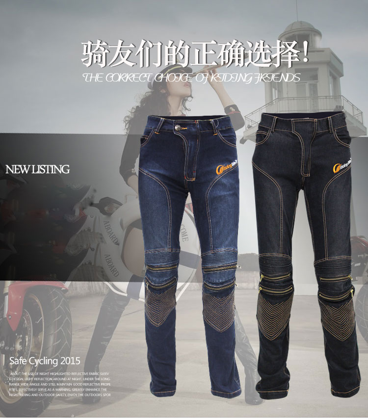 Racing Motorcycle Jeans Pants Cargo Men Casual Motorcycle Denim Biker Jeans Stretch Multi Pockets Tactical Combat Army Jeans