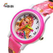 Cute Princess Children Fashion Watches Quartz Wristwatches Waterproof Kids Clock boys girls Students watch Relogio kol saati relogio femino kids watches lovely watch children students watch girls watch watches hot 6 09