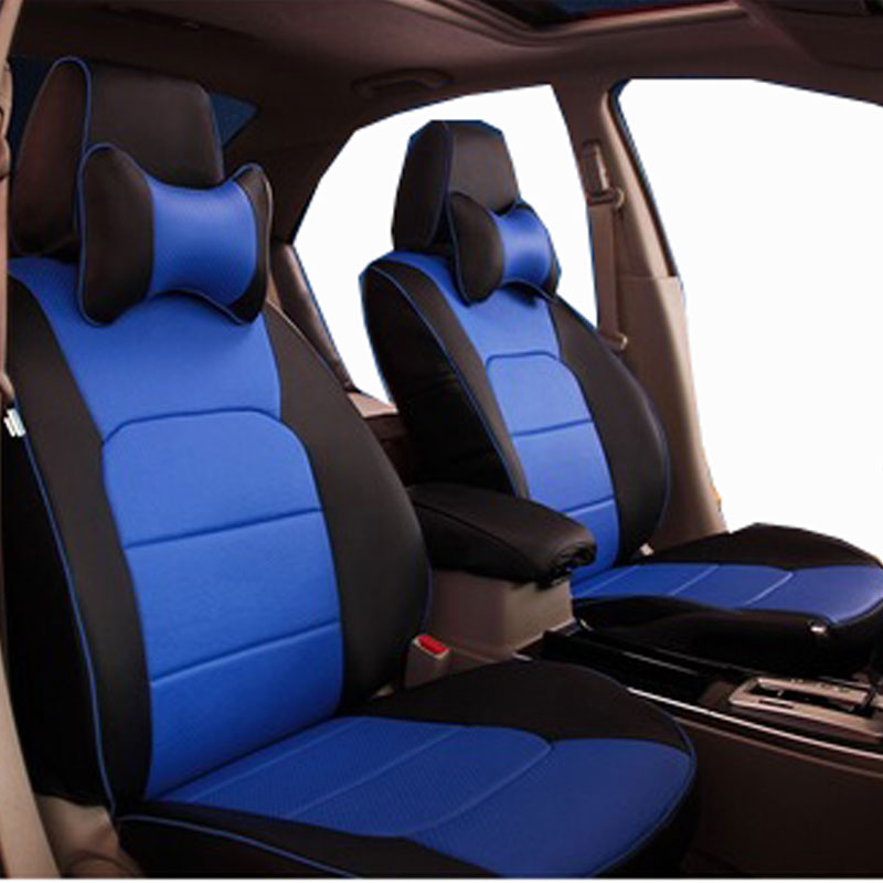 Image 4 - car seat cover leathe for toyota highland 5 or 7 seater custom proper fit high quality full set same structure seat covers-in Automobiles Seat Covers from Automobiles & Motorcycles