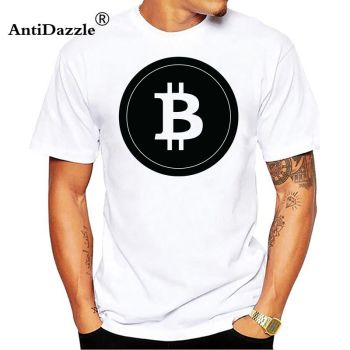 Bitcoin Black Design T-Shirt