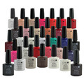 new winter color 110 colors new design CND Shellac 4colors+1 Base +1Top Soak Off LED UV Gel Polish,7.3ml Nail gel polish