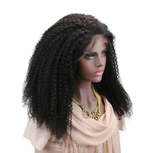 hot deal buy eseewigs kinky curly 360 lace frontal wigs human hair for african american 180% density 360 lace wigs baby hair per plucked