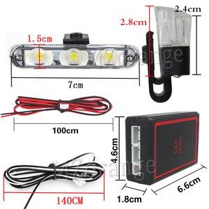 Image 4 - Wireless Remote 4x 3/led Krankenwagen Polizei licht DC 12V Strobe Warn licht für Auto Lkw Notfall Licht flash stroboskop Licht