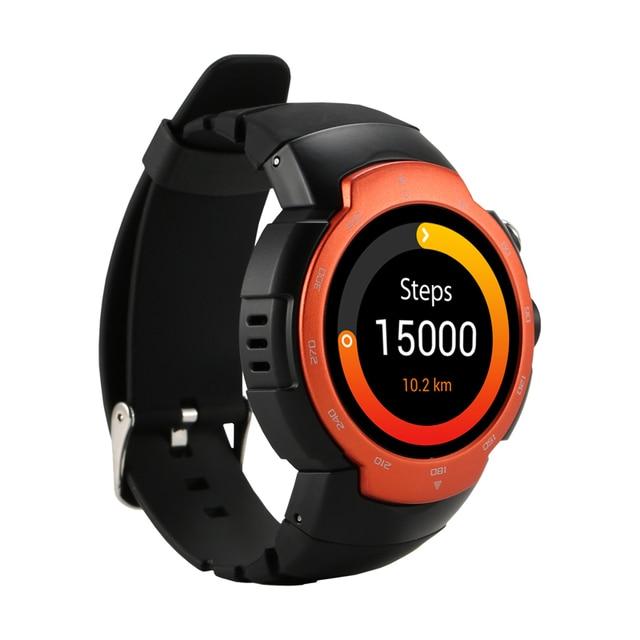 Zaoyimall Bluetooth Smart Часы Android 5.1 Quad Core 1.3 ГГц 512 МБ оперативной памяти 4 ГБ ROM водонепроницаемый шагомер сердечного ритма монитор Часы