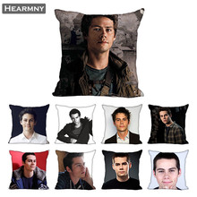 Dylan O Brien Pillow Case For Home Decorative Pillows Cover Invisible Zippered Throw PillowCases 40X40 45X45cm