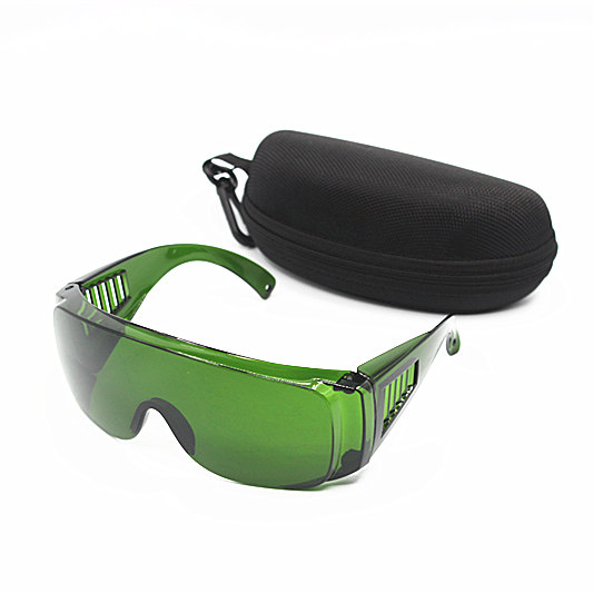 OPT / E Light / IPL / Photon Beauty Instrument Safety Protective Glasses Red Laser Goggles 340-1250nm Wide Absorption